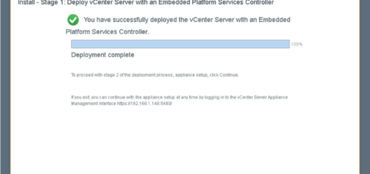 "vCenter Appliance v6 5a ""503 Service Unavailable"" Error – @RVAVMWARE"